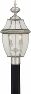 Quoizel NY9011P Newbury Pewter Outdoor Post Lighting Fixture