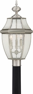 Quoizel NY9012P Newbury Pewter Exterior Pole Lighting Fixture