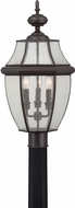 Quoizel NY9012Z Newbury Medici Bronze Outdoor Post Lighting