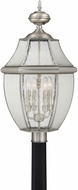 Quoizel NY9016P Newbury Pewter Outdoor Lamp Post Light