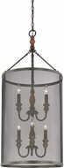 Quoizel ODL5206IB Odell Imperial Bronze Foyer Light Fixture