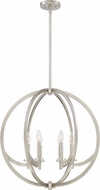 Quoizel ON2824BN Orion Modern Brushed Nickel Chandelier Light