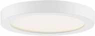 Quoizel OST1708W Outskirt Contemporary Fresco LED 7.5  Ceiling Light