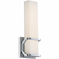 Quoizel PCAS8505C Platinum Collection Axis Modern Polished Chrome LED Wall Lighting Sconce