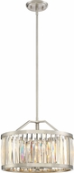 Quoizel PCBL2817BN Platinum Collection Ballet Modern Brushed Nickel 16.5  Drum Pendant Light