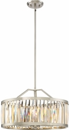 Quoizel PCBL2821BN Platinum Collection Ballet Contemporary Brushed Nickel 20.5  Drum Lighting Pendant