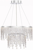 Quoizel PCBN5202C Platinum Collection Borderline Polished Chrome LED Hanging Light