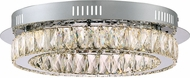 Quoizel PCEM1619C Platinum Collection Embrace Polished Chrome LED Ceiling Lighting Fixture