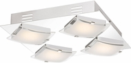 Quoizel PCEP1612C Platinum Collection Emporium Modern Polished Chrome LED Ceiling Light Fixture