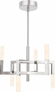 Quoizel PCEV5006C Platinum Collection Elevation Contemporary Polished Chrome LED Mini Chandelier Light