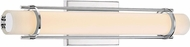 Quoizel PCFL8522C Platinum Collection Fleet Modern Polished Chrome LED 22  Bath Light Fixture