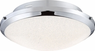 Quoizel PCGR1617C Platinum Collection Glimmer Polished Chrome LED 17  Overhead Lighting Fixture