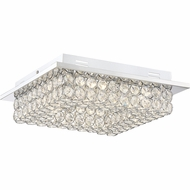 Quoizel PCIN1613C Platinum Collection Infinity Polished Chrome LED Ceiling Lighting