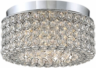 Quoizel PCIT1612C Platinum Collection Identity Polished Chrome Xenon 11.25  Flush Mount Lighting