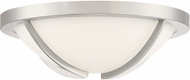 Quoizel PCLA1615BN Platinum Collection Lateral Contemporary Brushed Nickel LED Flush Mount Light Fixture