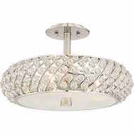 Quoizel PCLG1715BN Platinum Collection Legion Brushed Nickel Ceiling Light Fixture