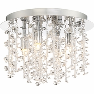 Quoizel PCLM1612C Platinum Collection Luminous Polished Chrome Xenon Ceiling Lighting Fixture