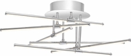 Quoizel PCLS1722C Platinum Collection Lightshow Modern Polished Chrome LED Flush Mount Lighting Fixture