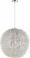 Quoizel PCPG2824C Platinum Collection Pageant Modern Polished Chrome Xenon 23.5  Drum Pendant Light