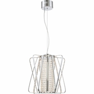 Quoizel PCPI1815C Platinum Collection Pillar Polished Chrome LED Pendant Lamp
