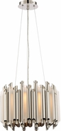 Quoizel PCPN2816PK Platinum Collection Pipeline Contemporary Polished Nickel Xenon Lighting Pendant
