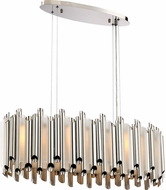 Quoizel PCPN832PK Platinum Collection Pipeline Modern Polished Nickel Xenon Island Lighting