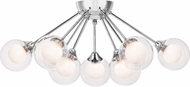 Quoizel PCSB1722C Platinum Collection Spellbound Contemporary Polished Chrome Overhead Light Fixture