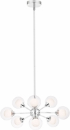 Quoizel PCSB5009C Platinum Collection Spellbound Modern Polished Chrome Mini Hanging Chandelier
