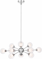 Quoizel PCSB5012C Platinum Collection Spellbound Contemporary Polished Chrome Chandelier Light