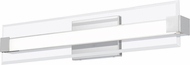 Quoizel PCSO8525C Platinum Collection Salon Contemporary Polished Chrome LED 25  Bath Wall Sconce