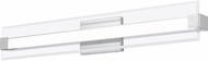 Quoizel PCSO8532C Platinum Collection Salon Modern Polished Chrome LED 32  Bathroom Light Sconce