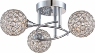 Quoizel PCSR1716C Platinum Collection Shimmer Polished Chrome Xenon Overhead Lighting Fixture