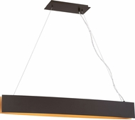 Quoizel PCSV142WT Platinum Collection Silver Edge Modern Western Bronze LED Island Lighting