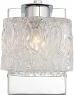 Quoizel PCSW8601C Platinum Collection Seaview Modern Polished Chrome Xenon Wall Lamping