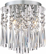 Quoizel PCTE1610C Platinum Collection Tower Contemporary Polished Chrome Xenon 10  Ceiling Light