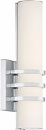 Quoizel PCTY8505C Platinum Collection Trinity Contemporary Polished Chrome LED Wall Light Fixture