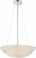 Quoizel PCVN2820C Platinum Collection Vision Modern Polished Chrome Xenon Pendant Lamp