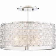 Quoizel PCVY1714C Platinum Collection Verity Polished Chrome Overhead Lighting