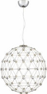 Quoizel PCZC2828C Platinum Collection Zodiac Modern Polished Chrome LED Pendant Light Fixture