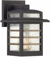 Quoizel PLA8406PN Plaza Contemporary Palladian Bronze Outdoor 6  Wall Lighting Sconce