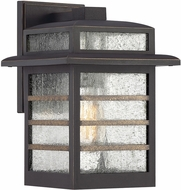 Quoizel PLA8408PN Plaza Modern Palladian Bronze Outdoor 8  Wall Sconce Lighting