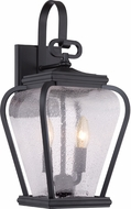 Quoizel PRV8408K Province Traditional Mystic Black Outdoor Lighting Sconce