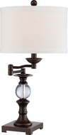 Quoizel Q1632TPN Palladian Bronze Table Top Lamp