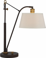 Quoizel Q2592TOZ Old Bronze Side Table Lamp