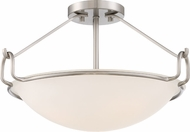 Quoizel QF1834BN Brushed Nickel Ceiling Light Fixture