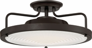 Quoizel QF3178SWT Quoizel Fixture Modern Western Bronze LED Ceiling Light