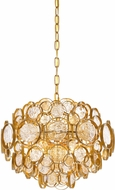 Quoizel QF3395GF Contemporary Gold Finch Drop Ceiling Lighting