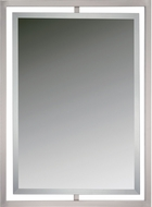 Quoizel QR1857BN Reflections Brushed Nickel Wall Mounted Mirror