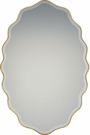 Quoizel QR2796 Reflections Gallery Gold Wall Mounted Mirror