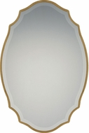 Quoizel QR2799 Reflections Gallery Gold Wall Mounted Mirror